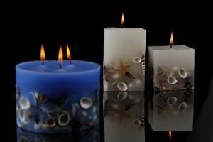 Διακοσμητικα κερια